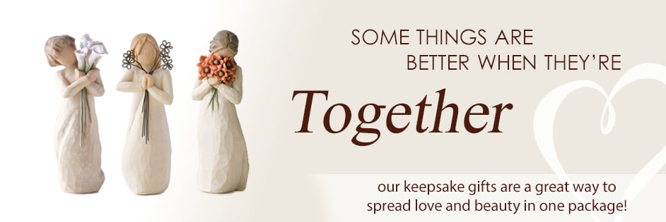 Our keepsake gifts are a great way to spread love and beauty in one package!