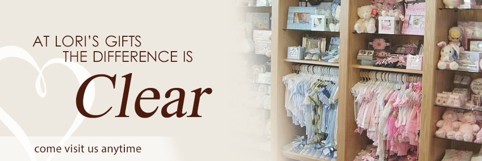 At Lori's Gifts The Difference is Clear. Come visit us anytime.