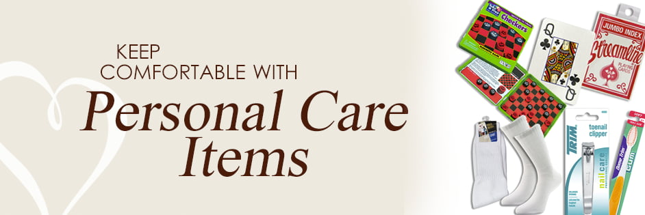 Keep comfortable with Personal Care Items