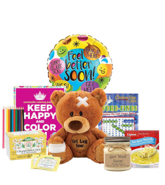 A Get Well Gift Basket