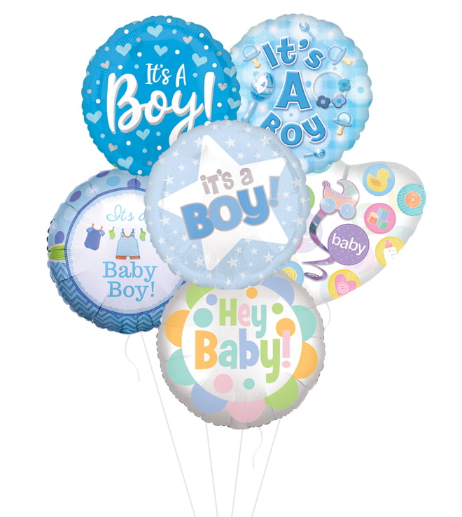 #1 Choice Its a Boy Balloon Bouquet