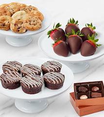 Classic Chocolates And Brownie Box
