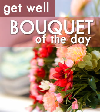 Get Well Floral Deal of the Day
