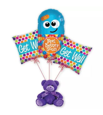 Get Well Pill Balloon Bouquet