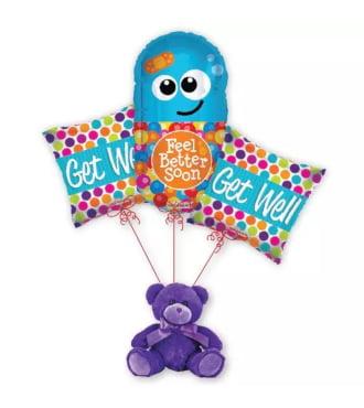 Get Well Pill Balloon Bouquet