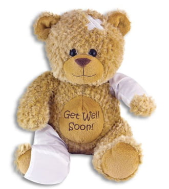 15 inch Get Well Signature Bear