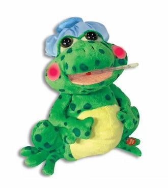 12 inch Singing Fever Frog