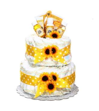 Burts Bees Diaper Cake